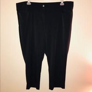 Black dress Capri pants